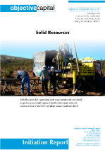 Read report on Solid Resources (SRW.V) - a promising 'conflict-free' tantalum source for Europe